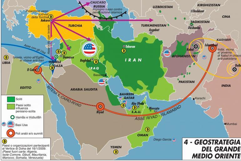 Geostrategia Medio Oriente