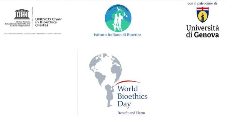 locandina del world bioethics day