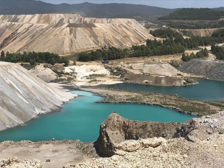 Miniera di magnesite di Gerakini (Grecia)