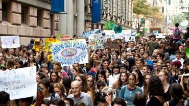 Fridays for Future la manifestazione di Genova