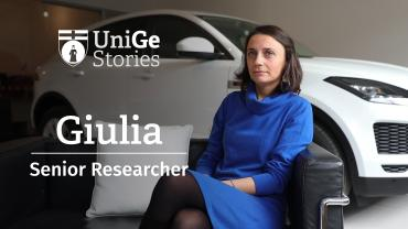 UniGe Stories: Giulia Isetti - Senior Researcher