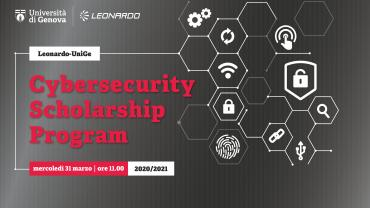 Leonardo-UniGe cybersecurity Scholarship Program premiazione 2020/21