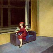 Edward Hopper, Hotel Window (1955)